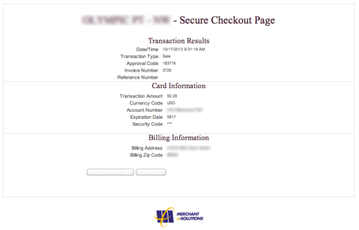 SecureCheckOut