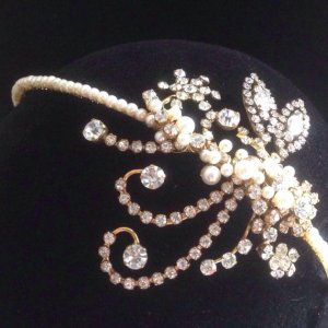 Bespoke 1920's Style Headband by StanAndMay on Etsy